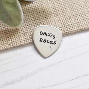 Personalised Guitar Pick Plectrum
