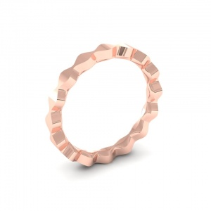 Wave stack ring.