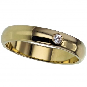 Yellow Gold Court Ring