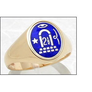 2-1/2 Arch Masonic Signet Ring
