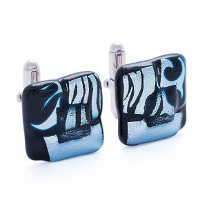 MIDNIGHT SKY ARIES STAR CUFFLINKS