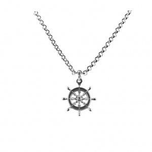 Captains Wheel Pendant