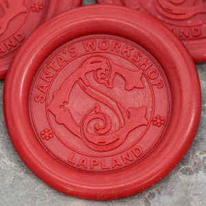 Santa's Workshop Peel and Stick Wax Seals