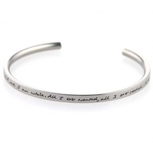 Ti2 Titanium Valentines Day Bangle