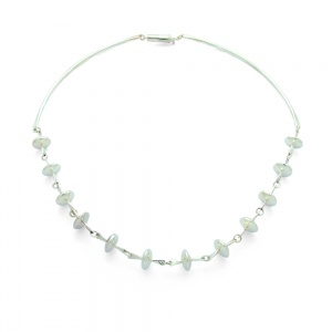 Sterling Silver 12 Bead Necklace
