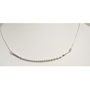 Spiral twist Necklet