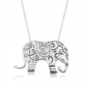 Indian Dressed Elephant Pendant