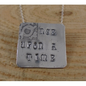 Sterling Silver Once Upon A Time Necklace