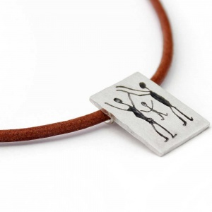 CAPIVARA sterling silver necklace