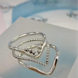 Wishbone Stacking Rings