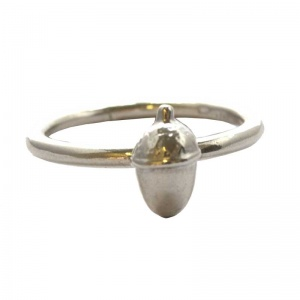 Dwynwen's Love Rings - Acorn Stacking Ring