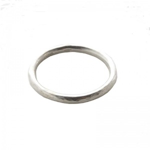Dwynwen's Love Rings -  Plain Stacking Ring