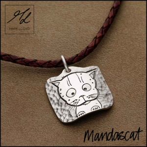 CUTE CAT (CURVED SQUARE)