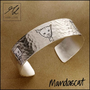 CAT TEXTURED BANGLE
