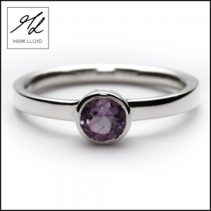 PALE AMETHYST STACKING RING