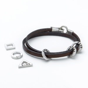 Rugged Leather Bracelet