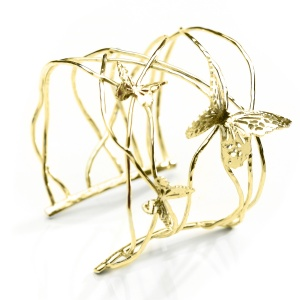 Butterfly Cuff - Yellow