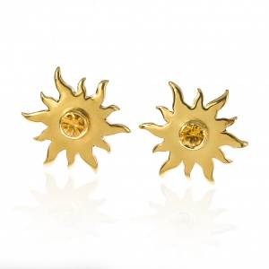 18ct Gold Sunshine Earrings