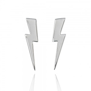 Large Lightning Bolt Earrings