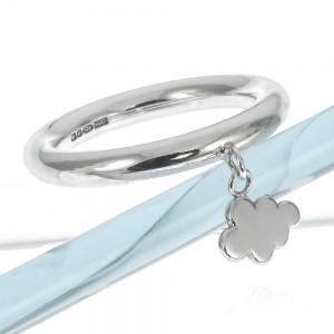 Cloud Charm Ring