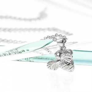 Silver Mini Bee Necklace