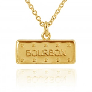 Gold Vermeil Large Bourbon Necklace