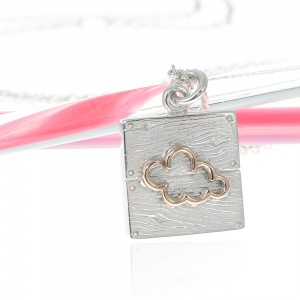 Neon Cloud Necklace