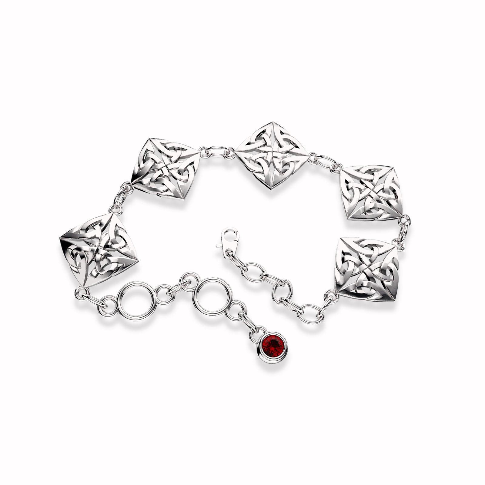 52f4f1dd20e Celtic Knot Bracelet – Sterling Silver