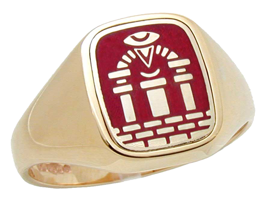 L P Jewellery Scottish Royal Arch Chapter Masons Ring